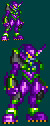 MegaMan ZX Eva Unit 01 Sprite by DragonZenith