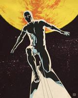 Silver Surfer by edwardbatkins