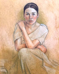Grecian Girl by edwardbatkins