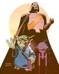 Star Trek Wars by edwardbatkins