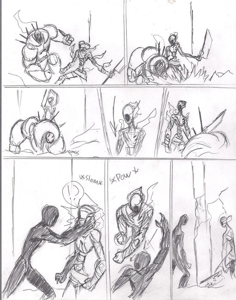 Tales Of Asylum Pg 26 brawl by heavy147