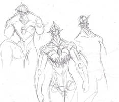G Emepror sketches by heavy147