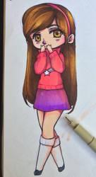 Geavity Falls: Mabel by Annikania