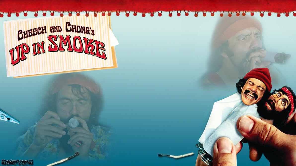 cheech and chong up in smoke wallpaper by randyadr on