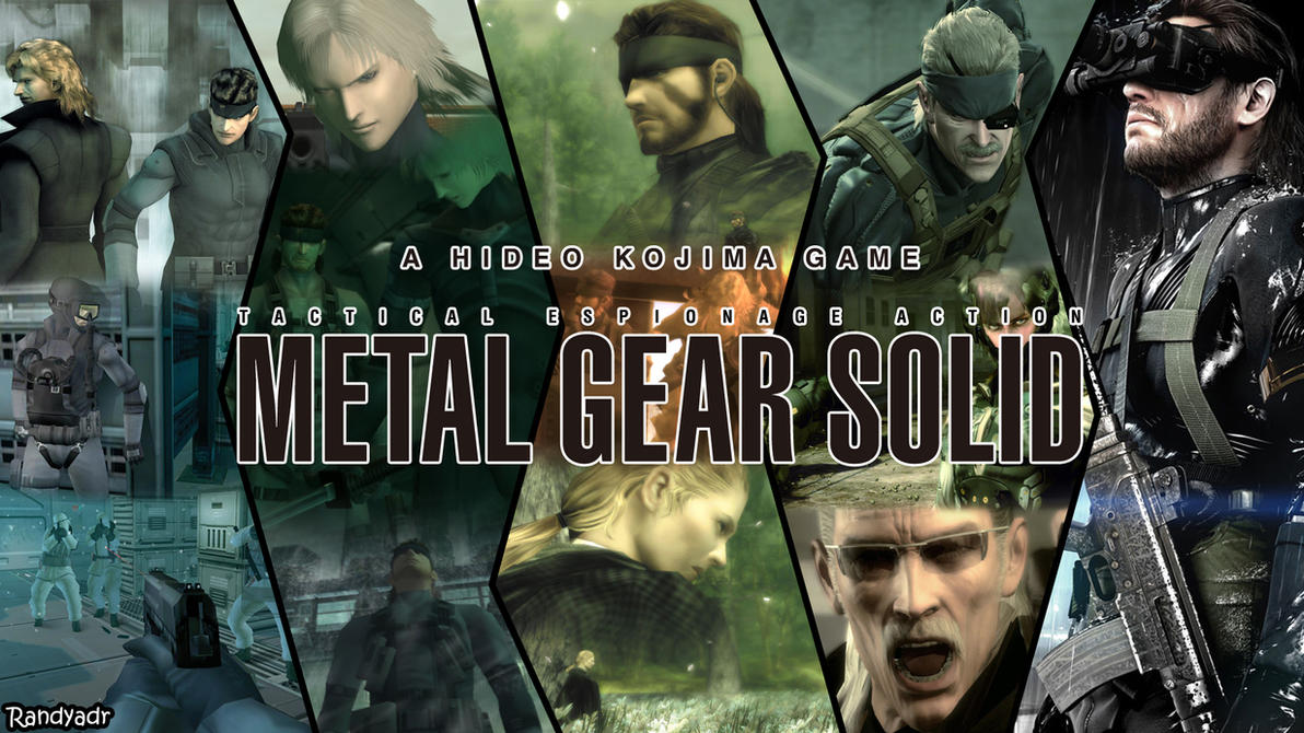 Metal Gear Solid Wallpaper Attempt by randyadr