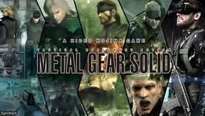 Metal Gear Solid Wallpaper Attempt