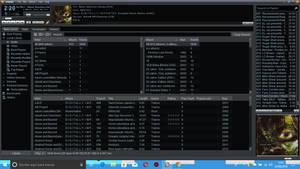 WINAMP 5.8 Beta.