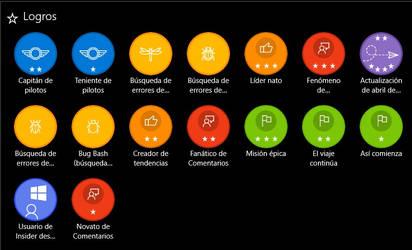 Achievements Windows Insider.
