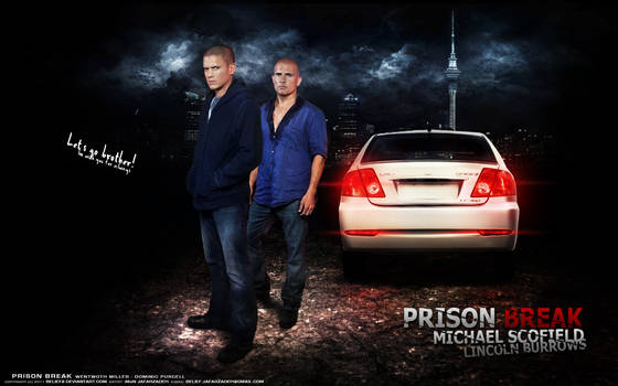 Wentworth Miller and Purcell