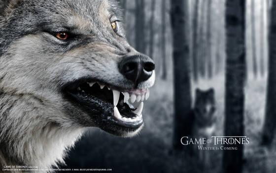 Wolf Stark Game of Thrones