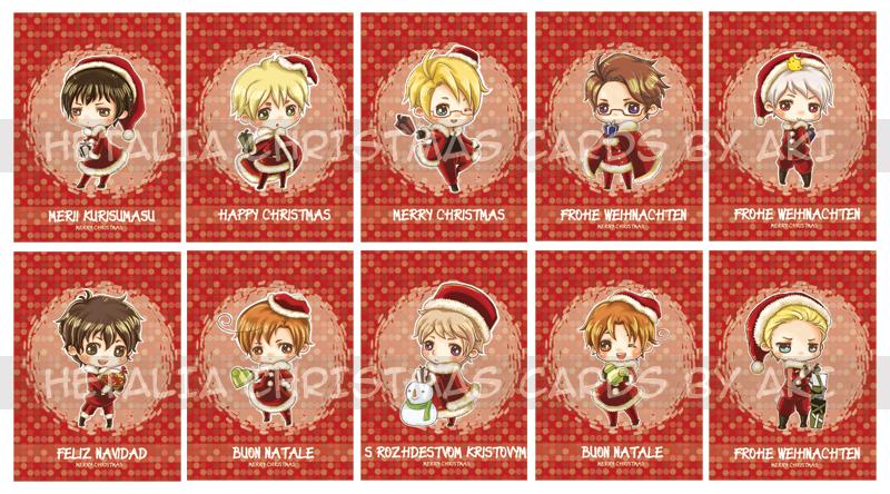 Hetalia valentines day cards romano