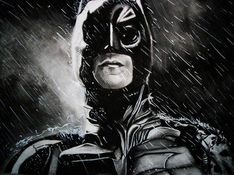 The Dark Knight Rises: Batman by Sasoriakasuna1