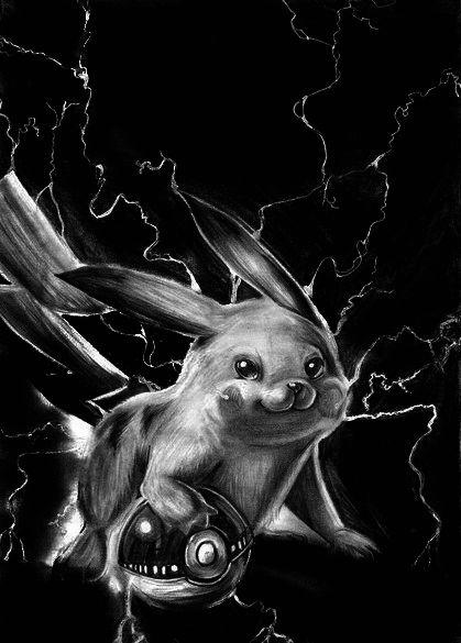Pikachu by Sasoriakasuna1