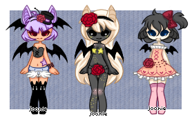 SweetieBats Adopts//CLOSED by joaniek