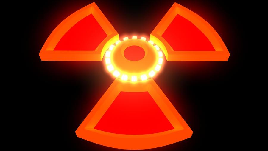 Nuke Symbol Explosion