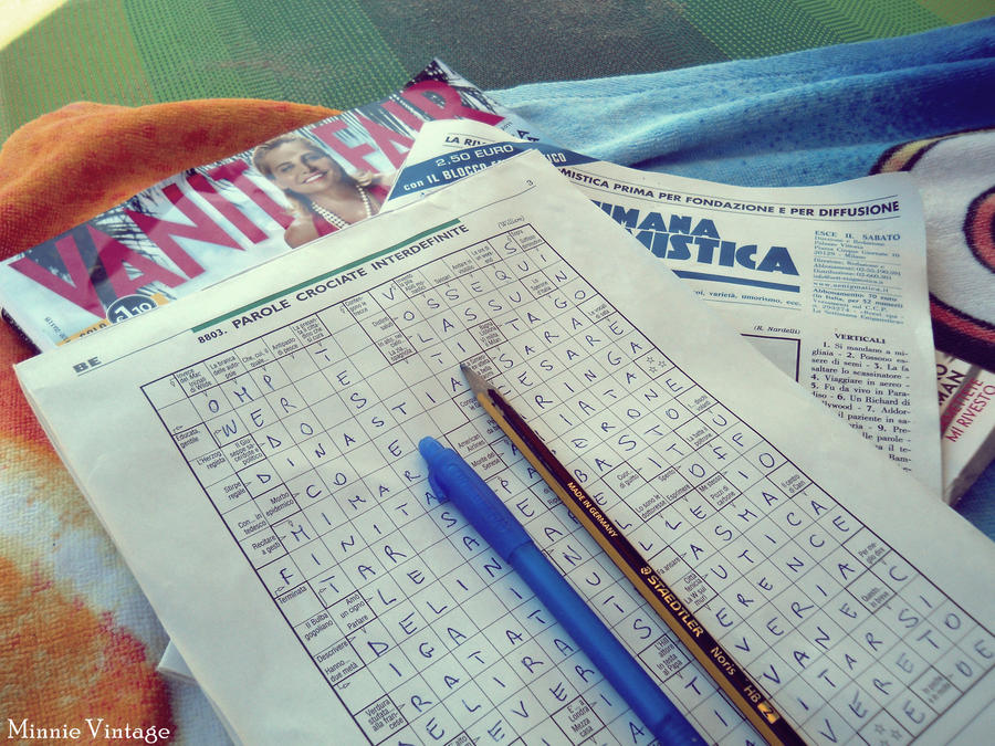 Crossword by MinnieVintage