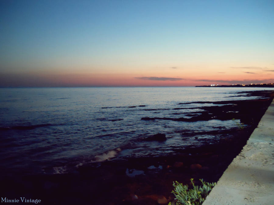Sunset, Torre Vado by MinnieVintage
