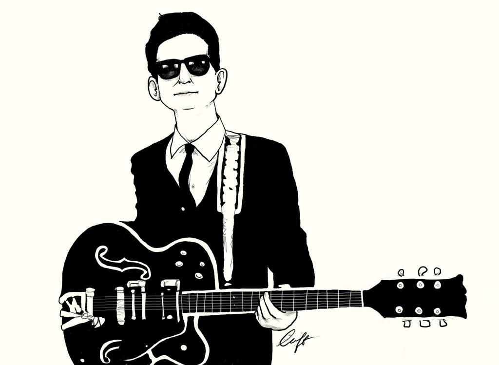 Roy Orbison By Luffhastrouble On Deviantart