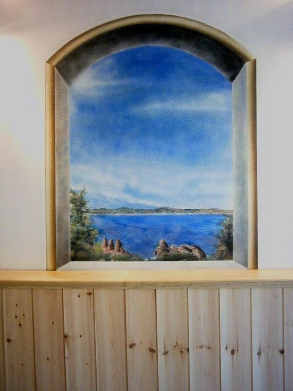 trompe loeil _window painted by guitchart