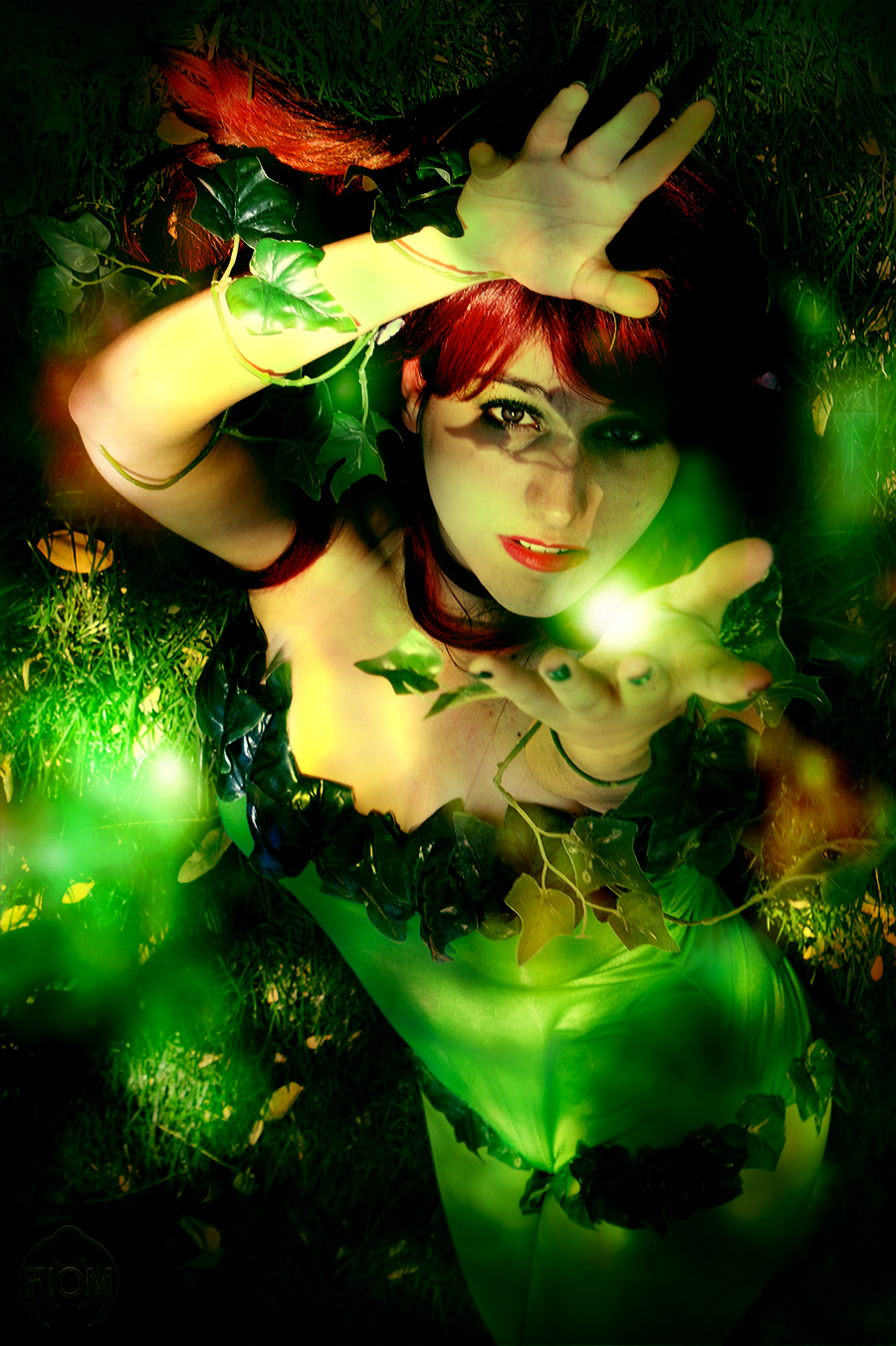 The power of nature - Poison Ivy by iamchipi