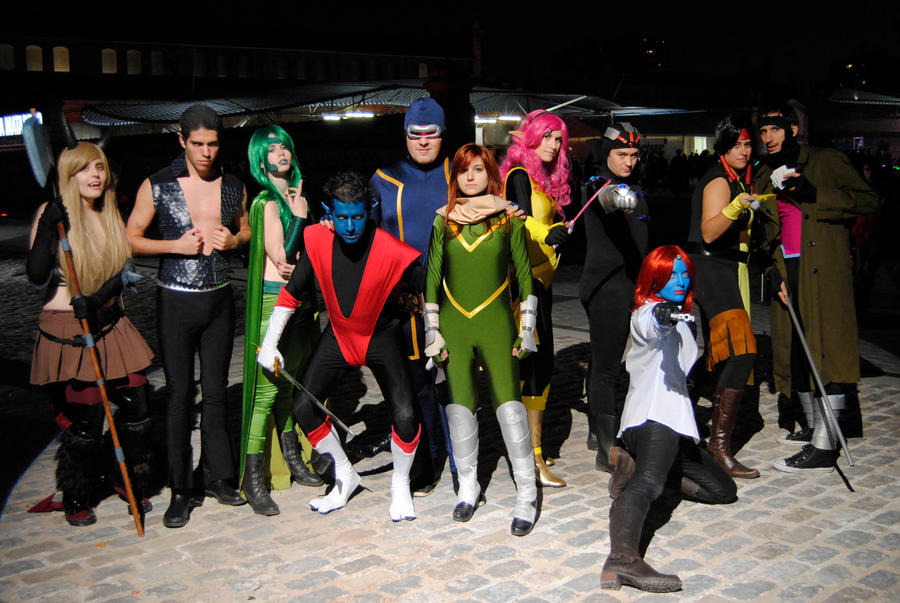 X-men cosplay group- Expocomic 2012 by iamchipi