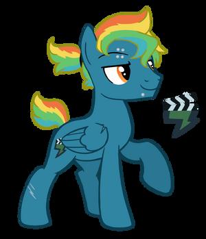 Rainbow Dash/Lightning Dust breedable for Siztr