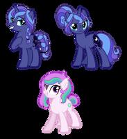 [Tempestswap AU] Luna and Celestia Skywish