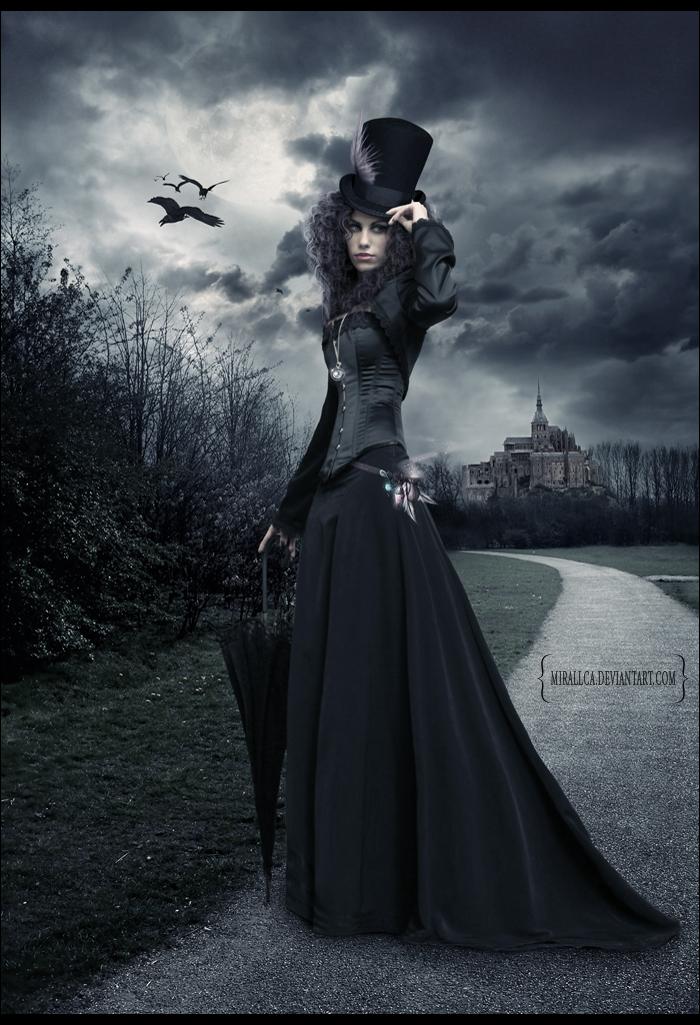 The Night Traveler by mirallca