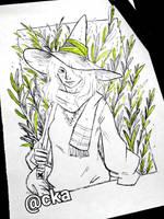 2Day_Of_Botanical_Witch by CrimsonKingArt