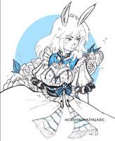 Lady2 by CrimsonKingArt