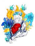 Blossom by CrimsonKingArt