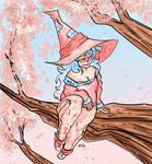 16_WITCHTOBER_Cherry Tree
