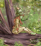 Green Tea in the Wood