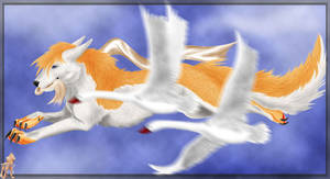 My_spring_My_swans by SwordTeeth