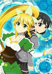 SAO/ALO Leafa x Suguha Kirigaya