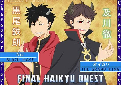 Final Haikyu Quest
