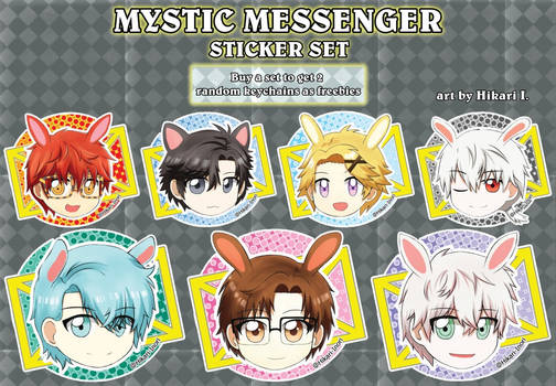 MysticMessenger - sticker set