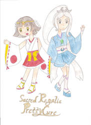 Gift Art: Sacred Regalia Pretty Cure