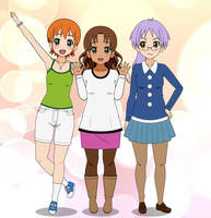 Dairy Precure Civilian Forms by FireChick12012