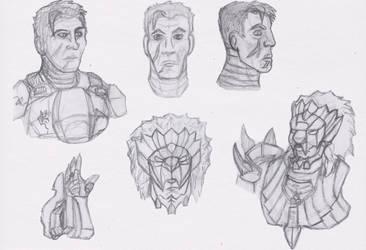 Daily Sketch - C04 by Shadowphaux