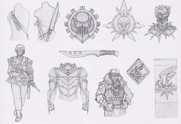 Daily Sketch - C06 by Shadowphaux
