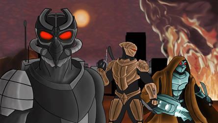 Agents of W.O.R.M  - 10 by Shadowphaux