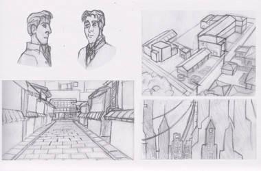 Sketch - C12 by Shadowphaux
