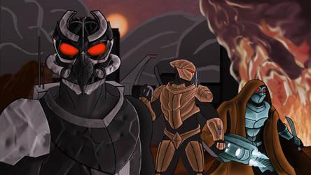 Agents of W.O.R.M  - 11 by Shadowphaux