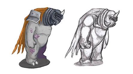 Ogre Sprite 01 - Concept by Shadowphaux