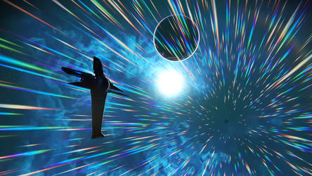 No Man's Sky - An Exotic Encounter by Shadowphaux