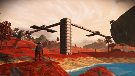 No Man's Sky NEXT - Base Foundations by Shadowphaux