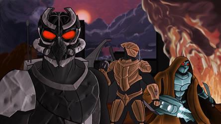 Agents of W.O.R.M  - 12 by Shadowphaux