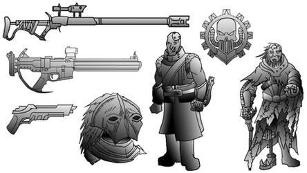 Bandit Forces - Designs 01 by Shadowphaux