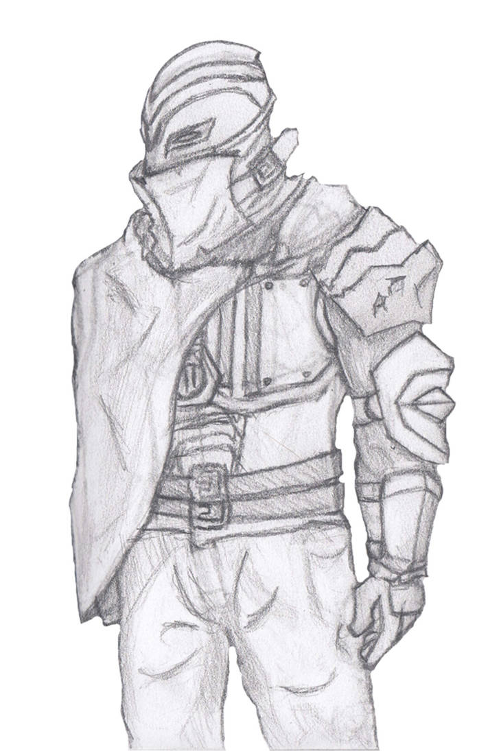 Character Sketch - C01 by Shadowphaux